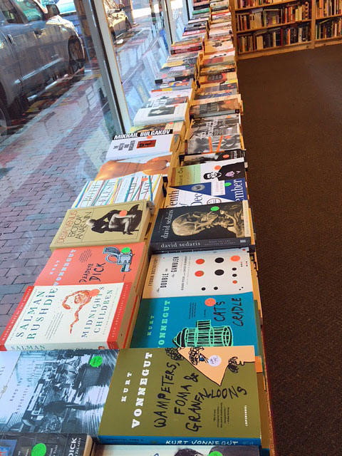 Photo of books for sale